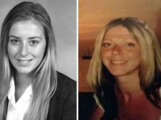 Rachelle Owen (left), who died after being hit by a train, and her mother Kay Diamond (right) who was allegedly murdered in a violent attack two months ago