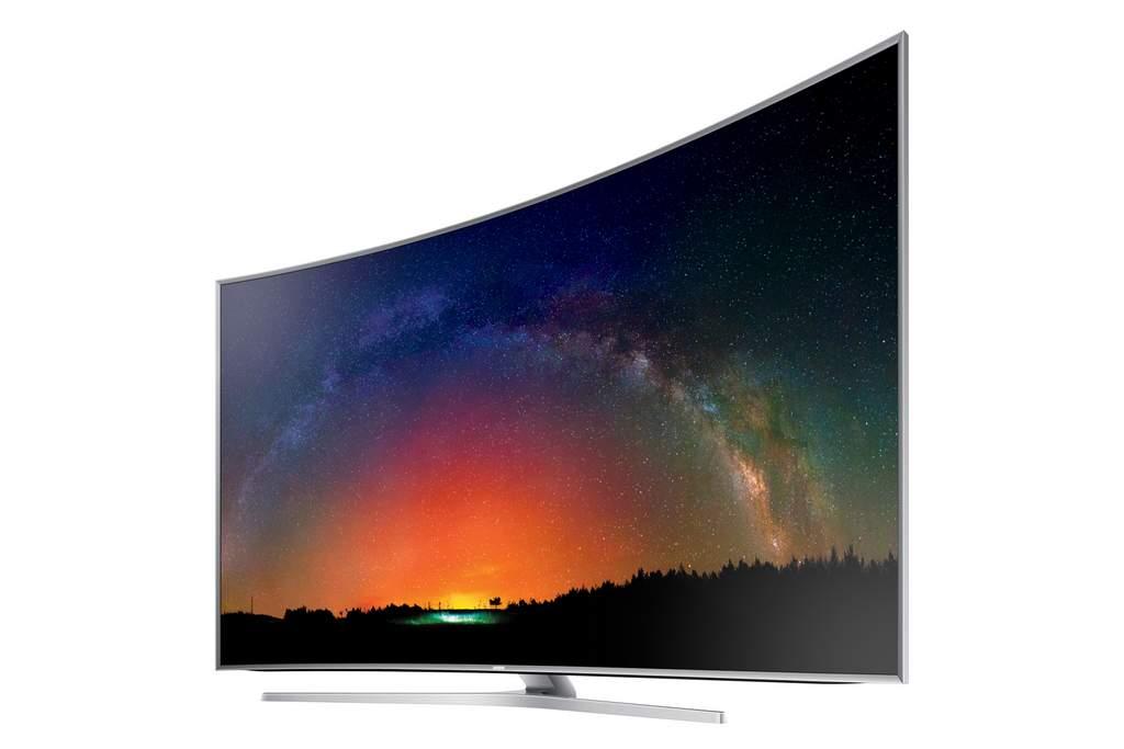 Samsung's Series 9 JS9500 SUHD television.