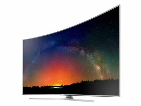 Samsung's Series 9 JS9500 SUHD television.