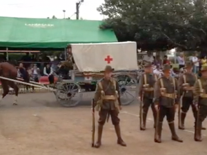Anzac display opens at Winton