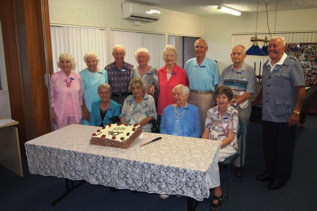 During NSW Seniors Week, Coolangatta Senior Citizens Centre recently celebrated with 13 members who will be turning 90 years old during 2015. A morning tea for these nonagenarians and their friends, together with four members who turned 90 in 2014, and was very much enjoyed and appreciated by all. A photo of the group is attached and we hope you will be able to acknowledge this significant landmark in your newspaper. Those members in the photograph are: Laurada Walton, Gwen Wallace, Kelvin Lloyd, Ellen Lythgoe, Doris Eldridge, Herb Bell, Mostyn Pugh, Tom Kirkham, Gwen Jauncey, Doreen Hynd, Patricia Gundrum and Peggy Lowe will all turn 90 this year.
