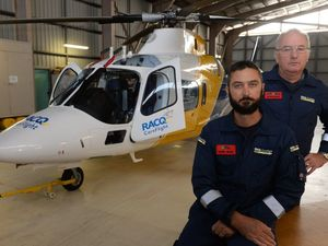 Same skills, new role for RACQ CareFlight Bundaberg duo