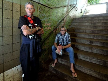 Jerry Gordon and Kimberley Bensted of Nambour are concerned that their much loved Friday night burger service is to be canned due to Workplace, Health and Safety issues.