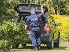 SEARCH: Police search a vehicle at a Lawrence house in the search for missing Grafton woman Sharon Edwards.
