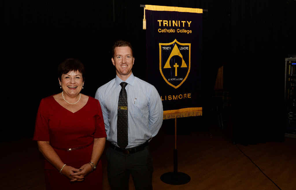 ART OF TEACHING: Dr Janelle Wills, conference facilitator and director of the Marzano Institute of Australia, and Travis Lyon, director of pedagogy at Trinity Catholic College, Lismore.