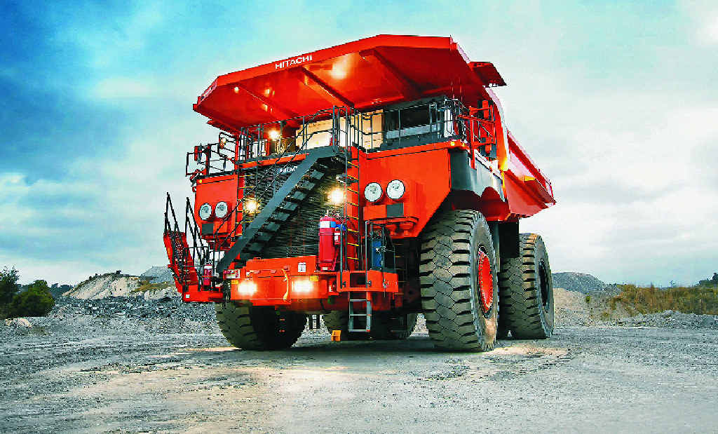 NEW ERA: Meandu Mine is two years into a trial of these giant, robotic trucks the size of small apartments.