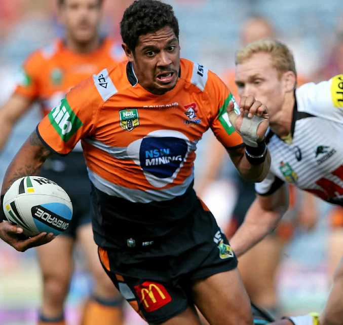 KANGAROO CONTENDER: Dane Gagai has had a successful start to this season with the Knights.