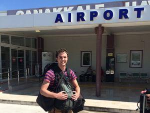 Road to Gallipoli: Biggest battle so far was the luggage