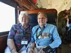 2015 Anzac Troop Train Re-enactment - Ted and Grace Kirk from Gayndah. Photo: Alistair Brightman / Fraser Coast Chronicle