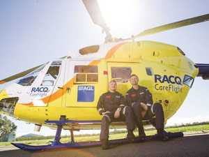 RACQ CareFlight Rescue airlifts boy after horse accident