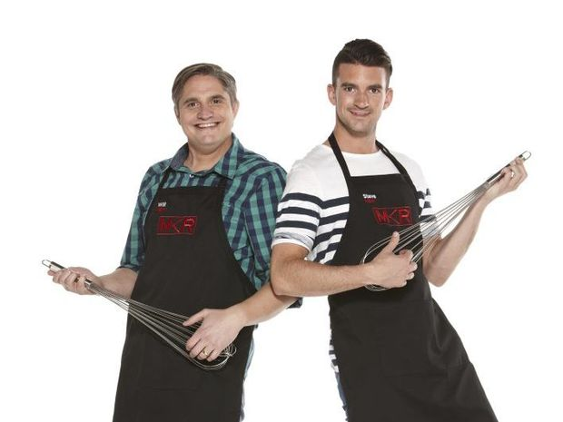 My Kitchen Rules contestants Will and Steve.