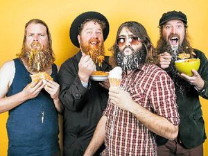 Beard-loving band back in Gladstone