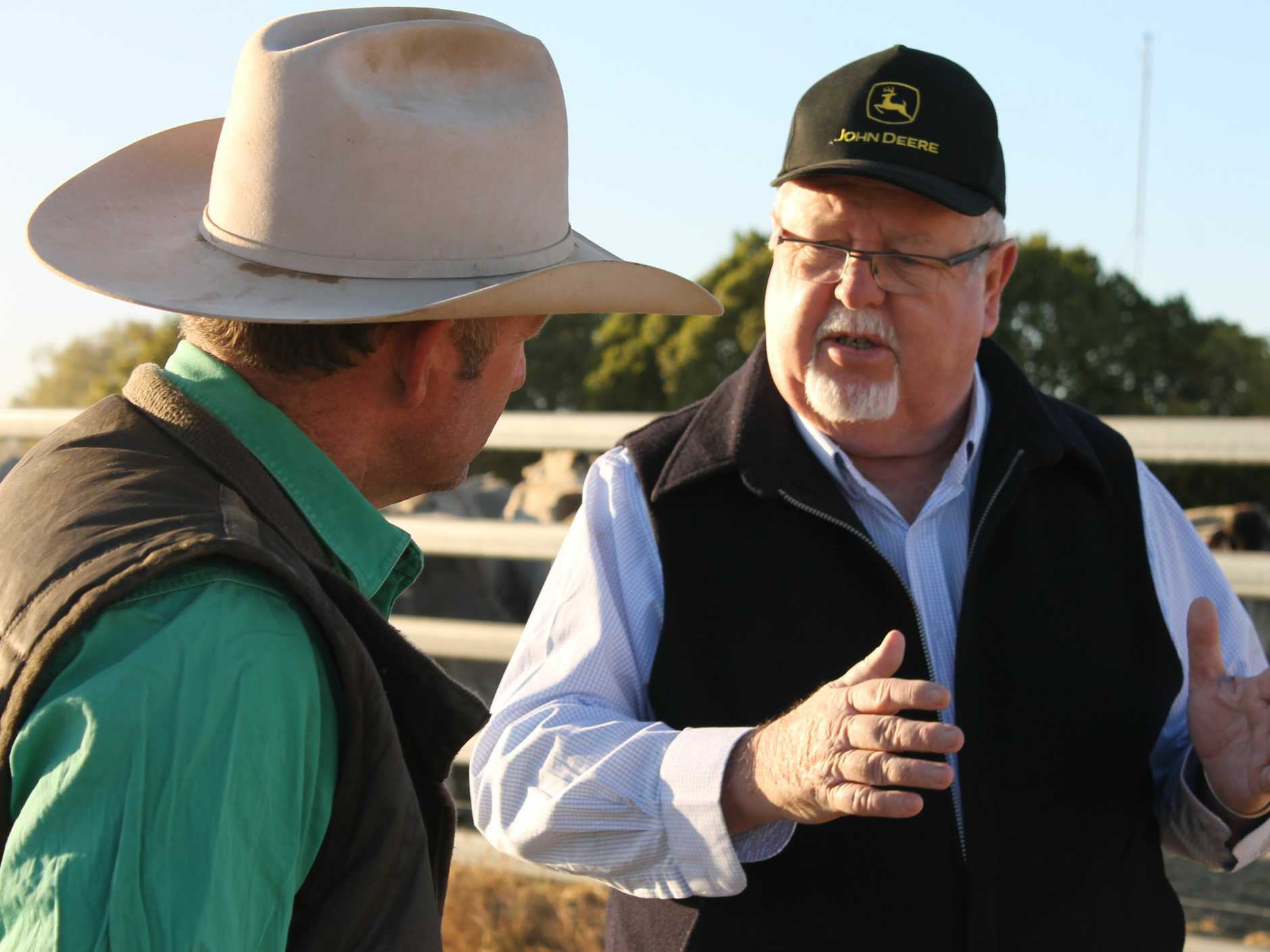 Queensland Nationals Senator Barry O'Sullivan
