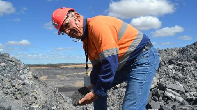 New Hope's executive general manager for mining, Jim Randell, is excited about the company's progress in land rehabilitation. Photo Jim Campbell / Chinchilla News