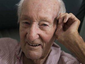 Quiet war hero passes away, 'going to get his legs back'