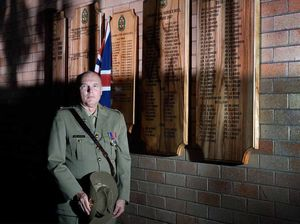 Major Murray upholds legacy at Lismore Anzac services
