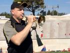 Corporal Andrew Barnett will play The Last Post at the Anzac Cove dawn service.