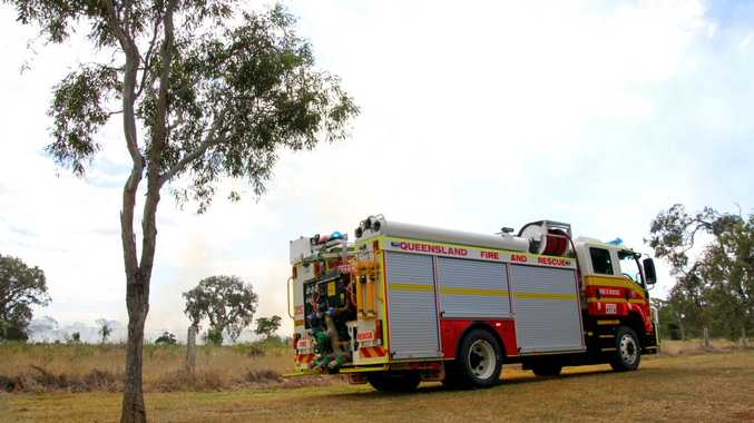 FILE SHOT: emergency services Queensland fire and rescue department. Photo: Zach Hogg / NewsMail