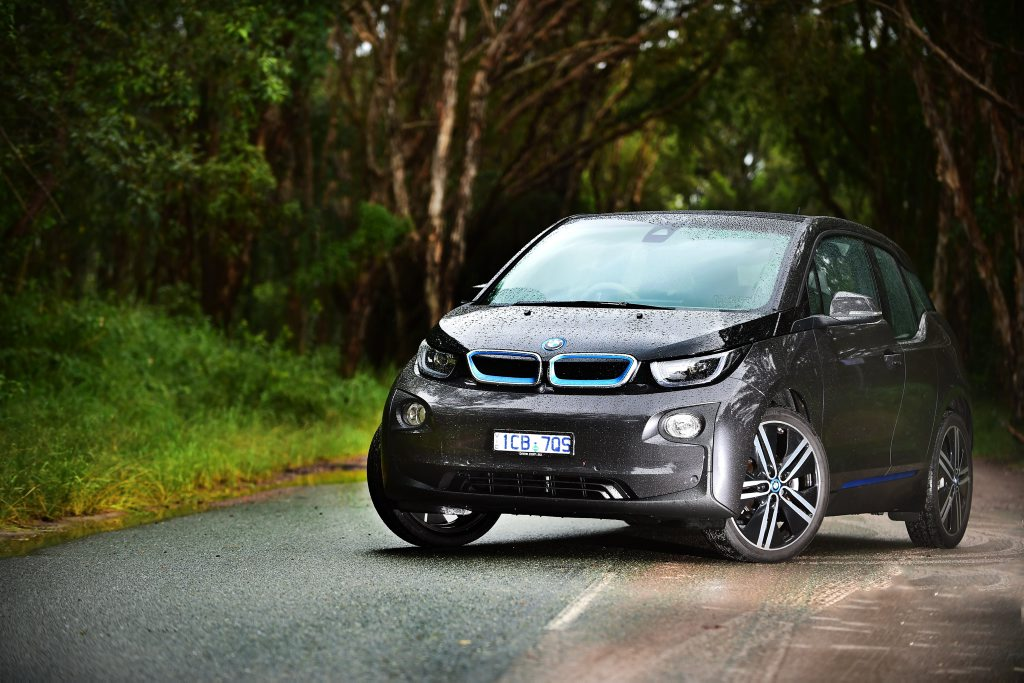 The BMW i3 is fun to drive and has as range of more than 100km on one charge.