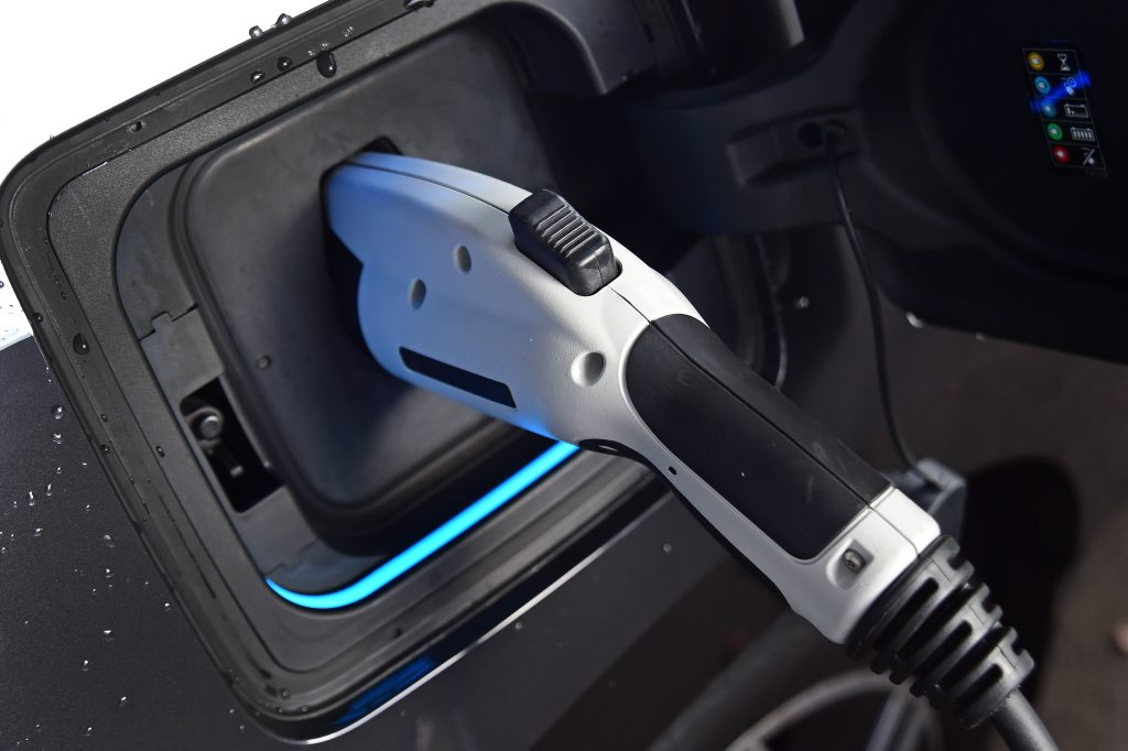 ON CHARGE: Plugging in your BMW i3.