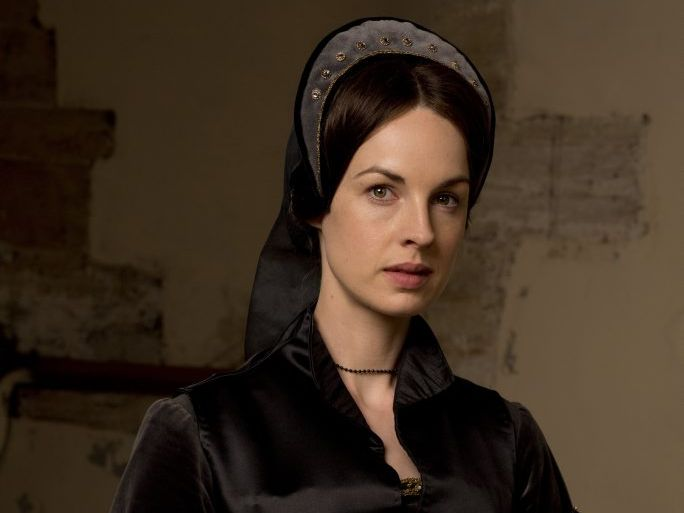 Jessica Raine plays Jane Rochford in the TV series Wolf Hall.
