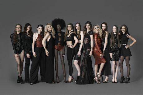 The top 12 contestants of Australia's Next Top Model for 2015.