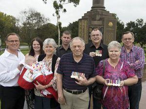 Toowoomba family reunites for Anzac centenary