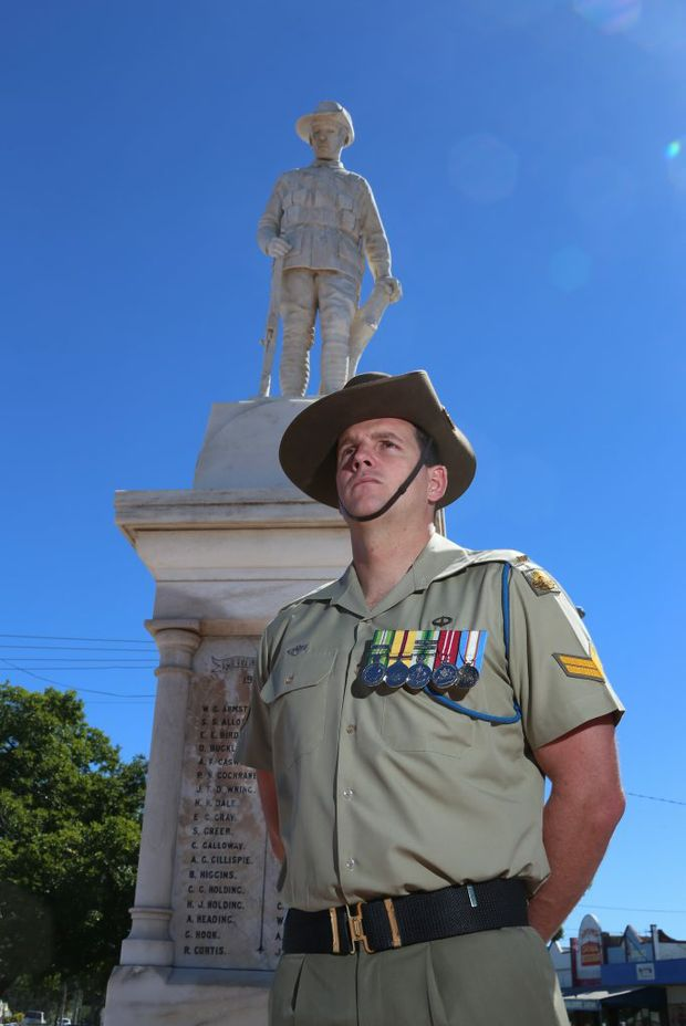 Anzac spirit will be on display in the South Burnett.