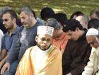 Imam Abdul Kader led Friday prayers in Newington Park.