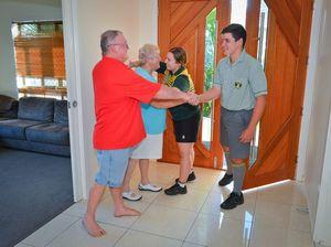 Grandparents' Anzac surprise