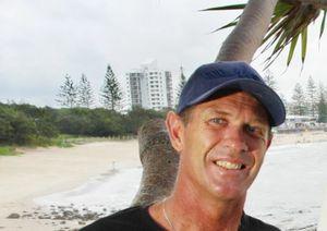 UNIMPRESSED: Surf instructor Robbie Sherwell.