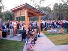 Dawn services at Mirriam Vale and Agnes Water Photo Mike Richards / The Observer