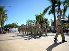 ANZAC parade in Rockhampton. Photo Allan Reinikka / The Morning Bulletin