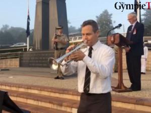 Anzac commemoration service in Gympie