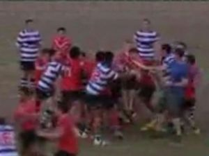 Brothers and Colts suspended from competition over brawl