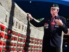 "NOT FORGOTTEN: Gordon ""Surfie"" Piper pays his respects during Anzac Day commemorations in Nambour."