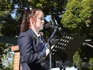 Anzac Day Speech - Jemma Clark GHS