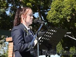 Anzac Day Speech - Jemma Clark GHS