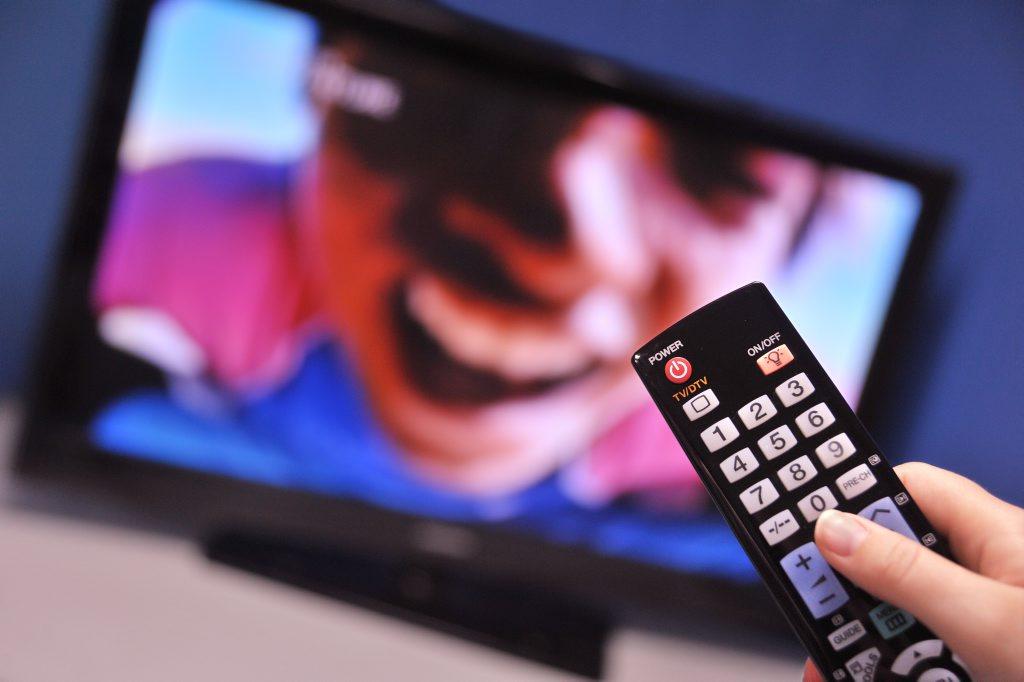 Television and remote control. Photo: Brett Wortman / Sunshine Coast Daily