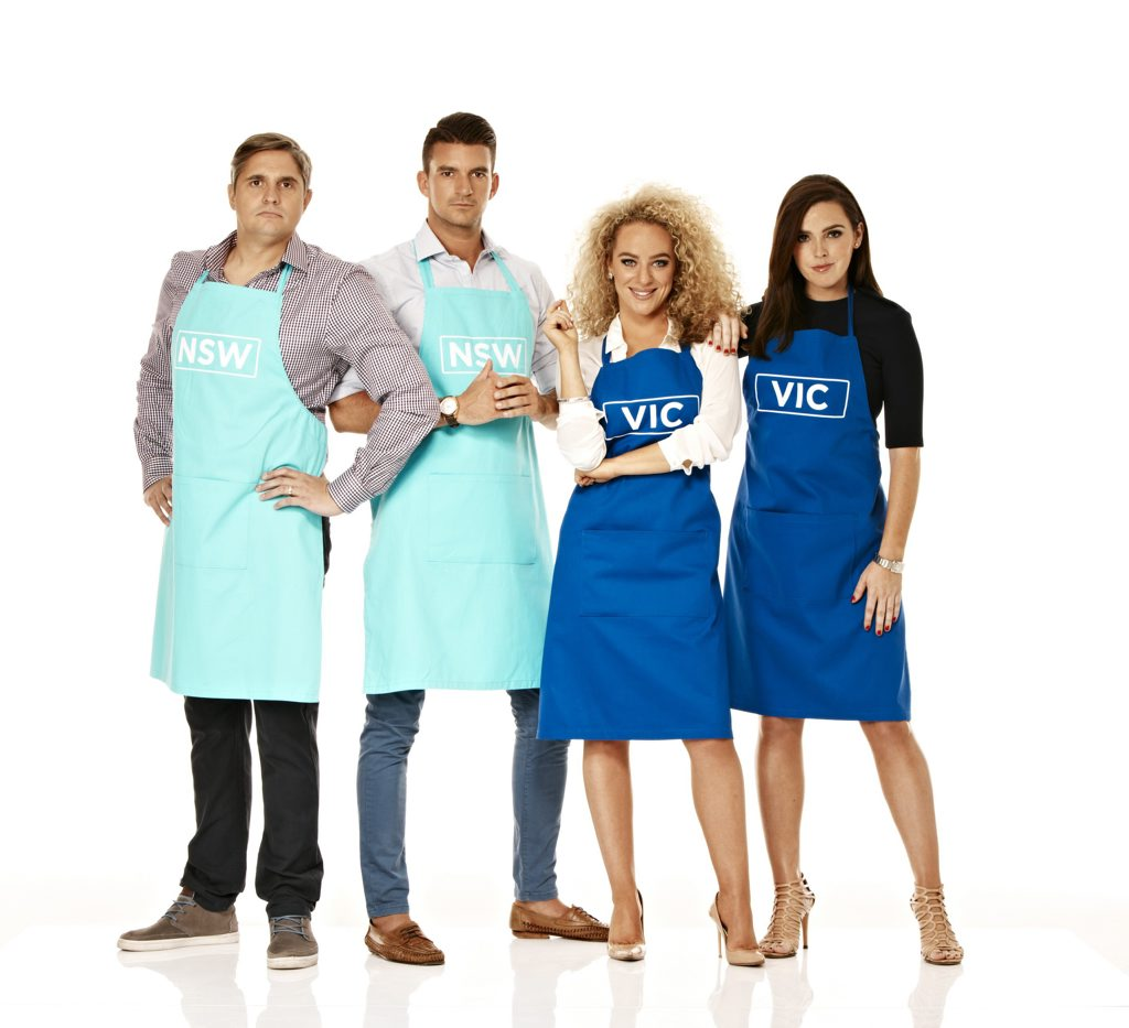 My Kitchen Rules semi-finalists Will and Steve will face off against Ash and Camilla.