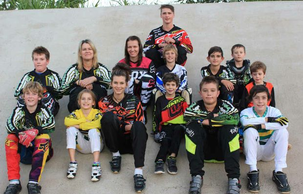 READY TO ROLL: Riders from the Maryborough BMX club are heading to Brisbane to compete at the National Championships.