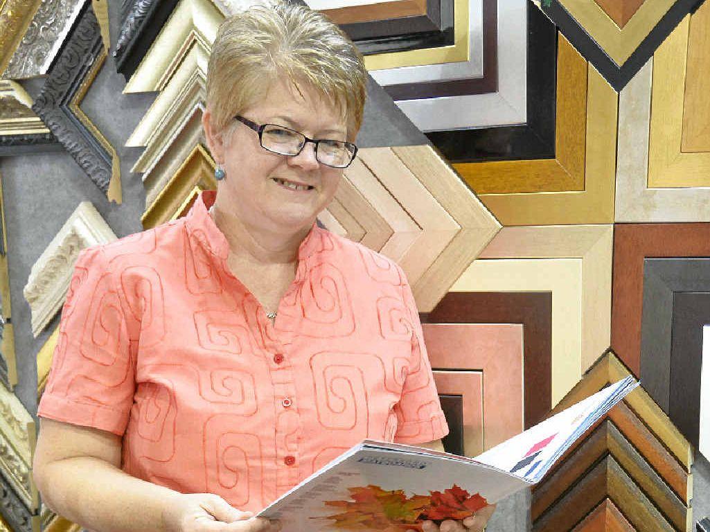 ART SCENE: Sue McMaster loves spending her days at Murray's Art and Framing.