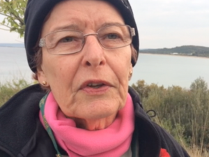 Betty pays tribute to great-uncle at Anzac Cove