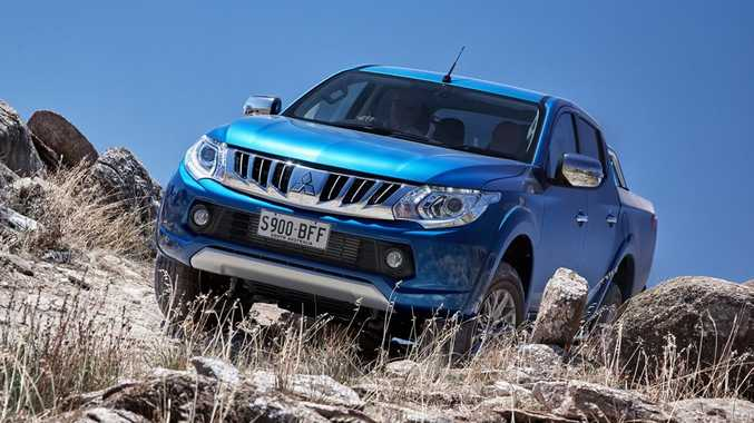 The 2016 Mitsubishi Triton.