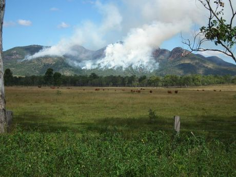 Control burn in the Mt Walsh National Park taken from the Maryborough-Biggenden Rd. Photo Erica Murree / Central & North Burnett Times