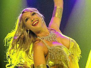 Lismore belly dancer the face of Sydney festival