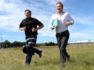 Butcher and accountant tackling Hilly Half Marathon