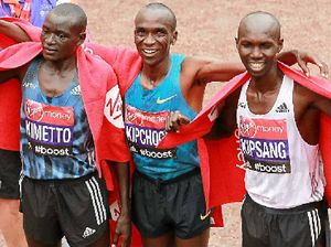 Kenya dominates London Marathon by taking the whole podium