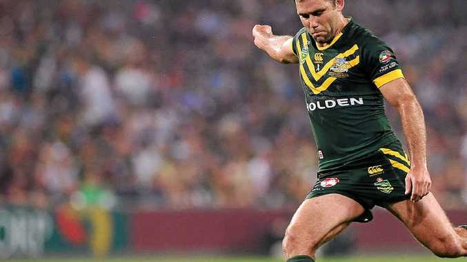 CAPTAIN FANTASTIC: Cameron Smith will skipper the Kangaroos against New Zealand on Friday at Suncorp Stadium.