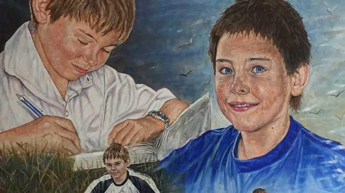 Daniel Morcombe painting